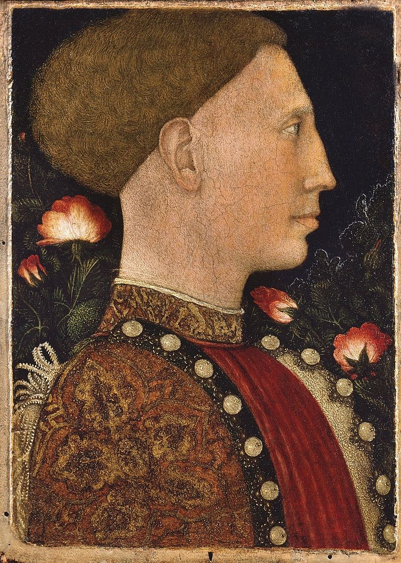 Leonello deste by Pisanello