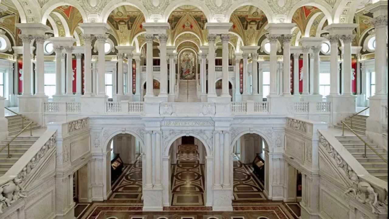 library of congress hall
