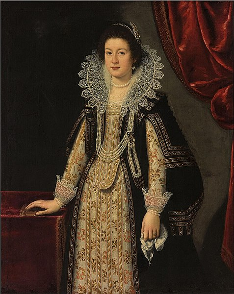 477px Justus Sustermans Portrait of Maria Maddalena of Austria
